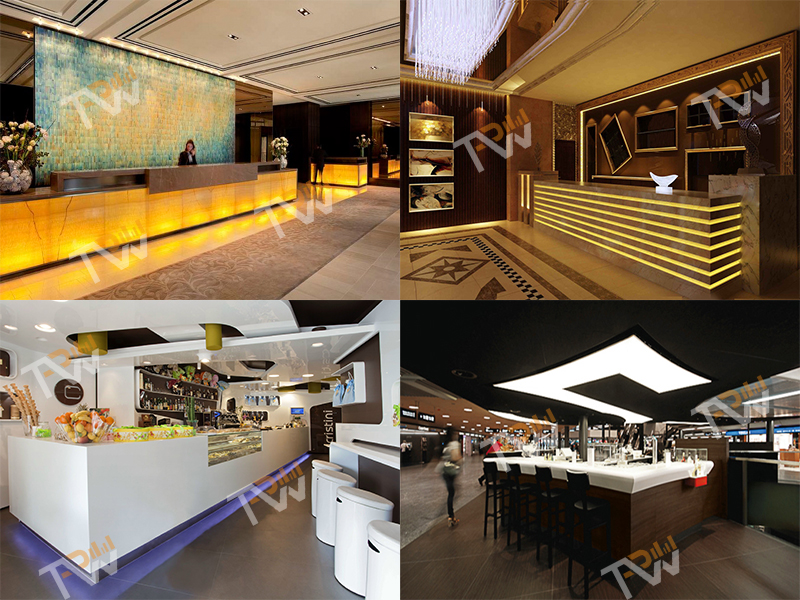 New Design Modern Led Light Bar Counter Tpbc032 Topone Furniture Co